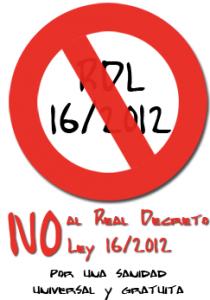 No a la ley 16-2012